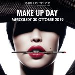 Makeup Day Make Up For Ever 30 Ottobre 2019